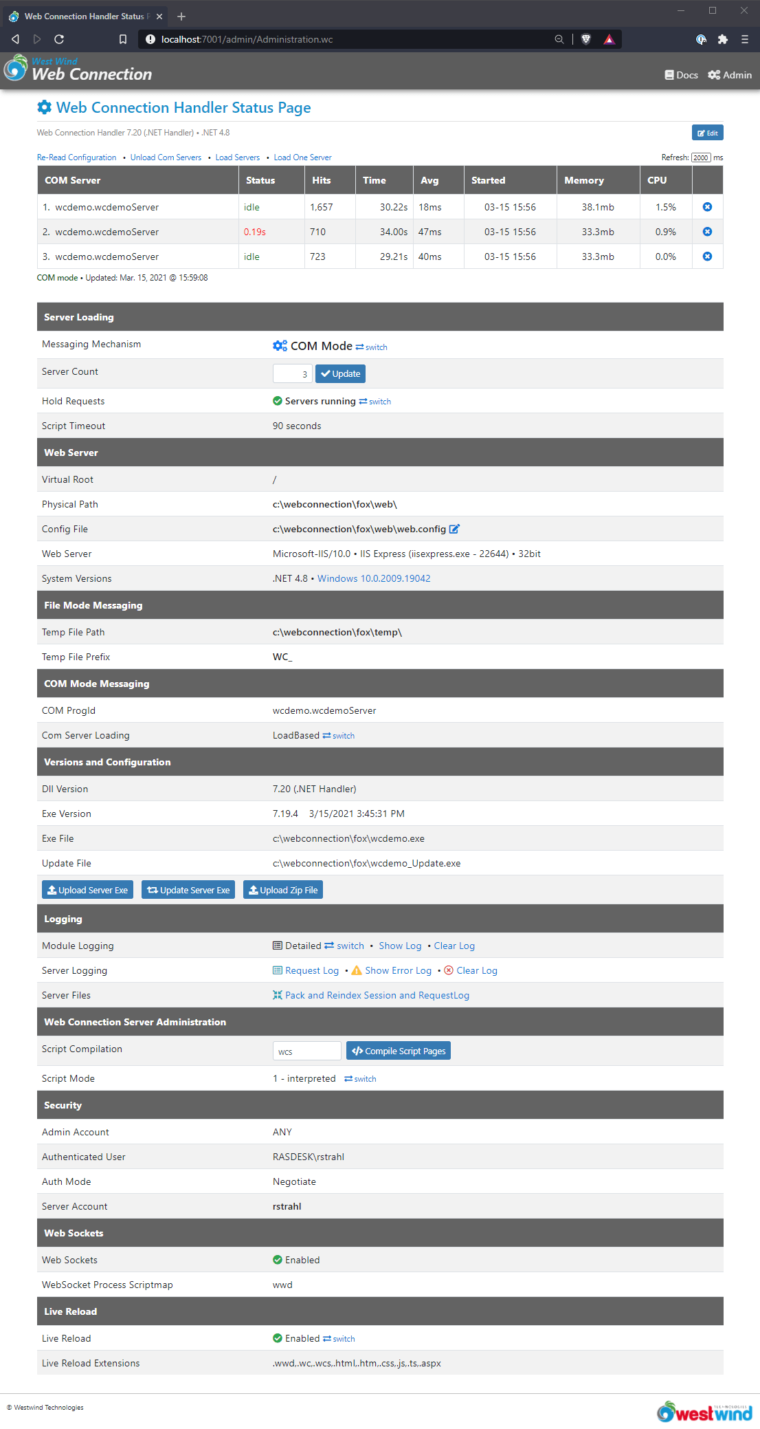 Web Connection 6 0 RTM is here