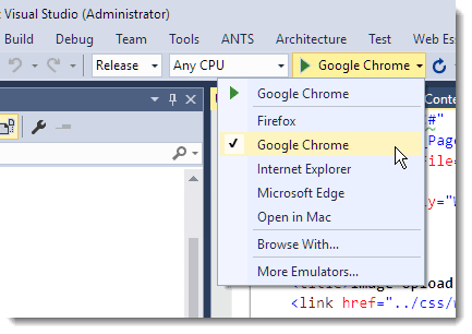 The Web Connection Visual Studio Add-in - West Wind Web