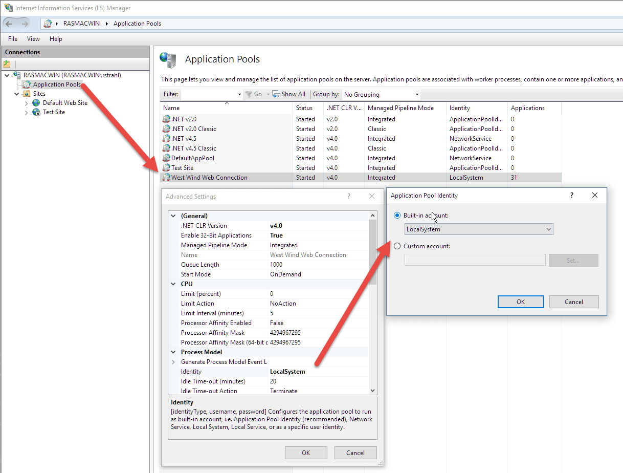Dealing with COM Server Load Errors - West Wind Web Connection