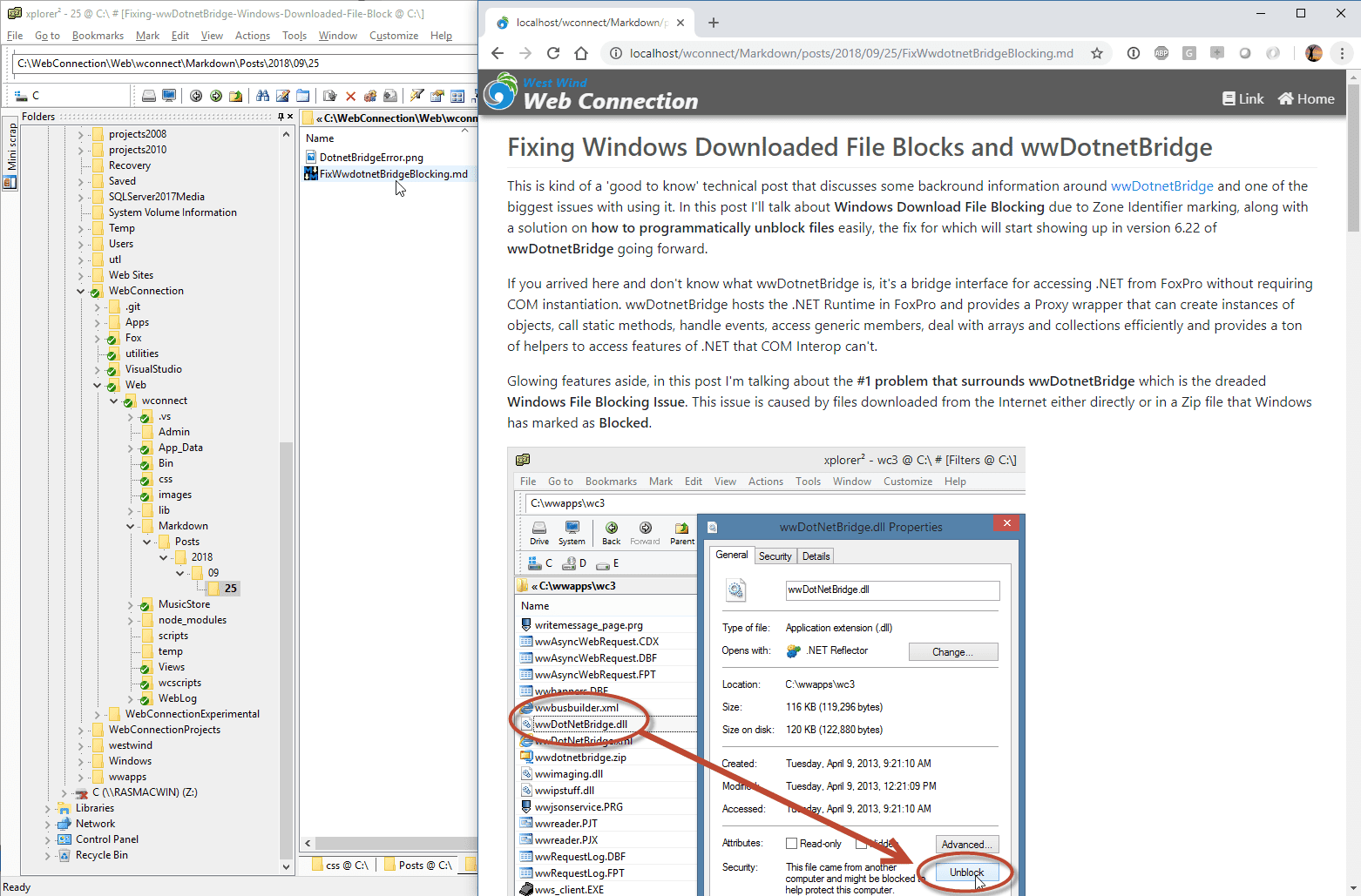 Step by Step: Serving Markdown Pages as HTML - West Wind Web Connection